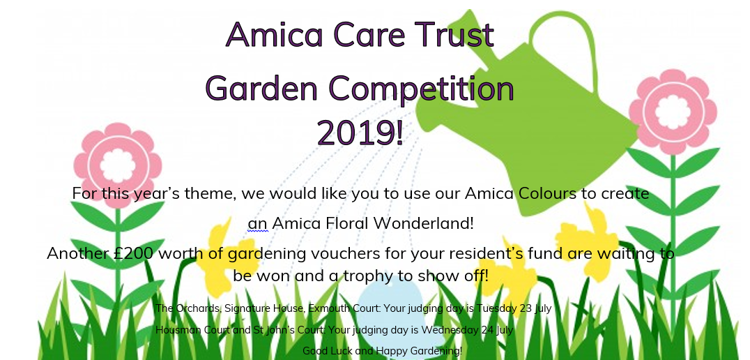 Amica Care Trust Inter - Home Garden Competition 2019 Image