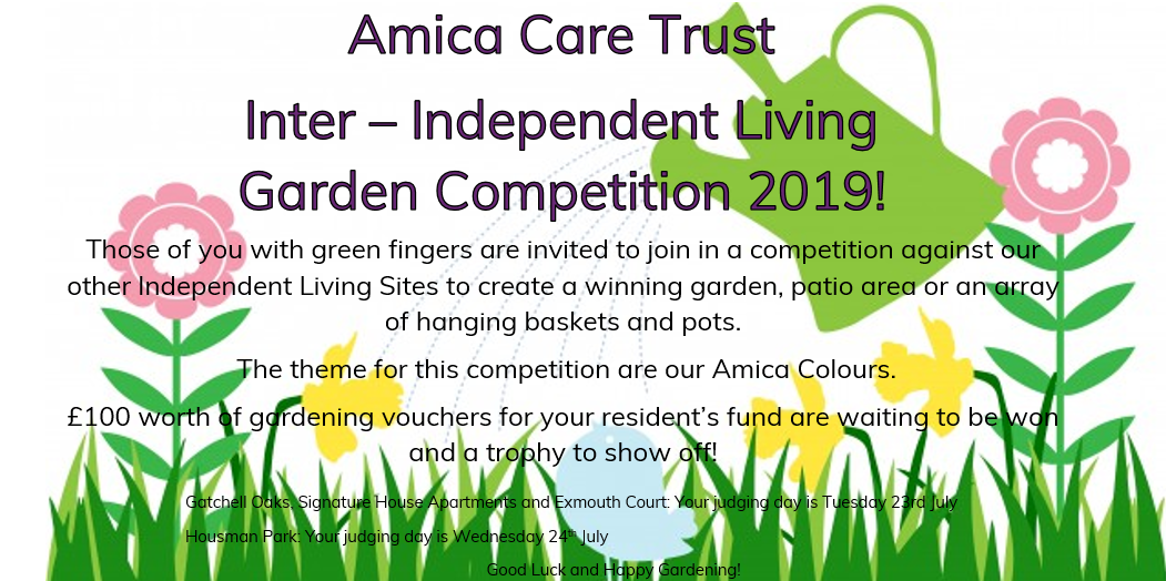Amica Care Trust Inter - Independent Living Garden Competition 2019 Image
