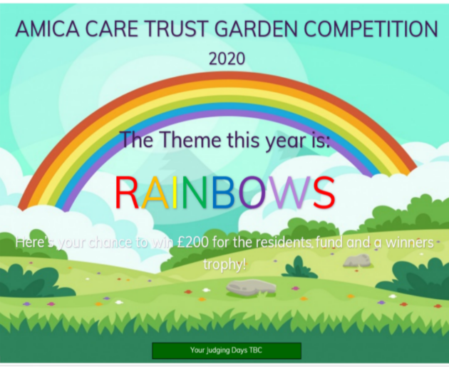 Amica Care Trust Garden Competition 2020 Image