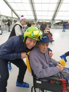 Housman Courts Residents trip to Webbs Ice Rink Image