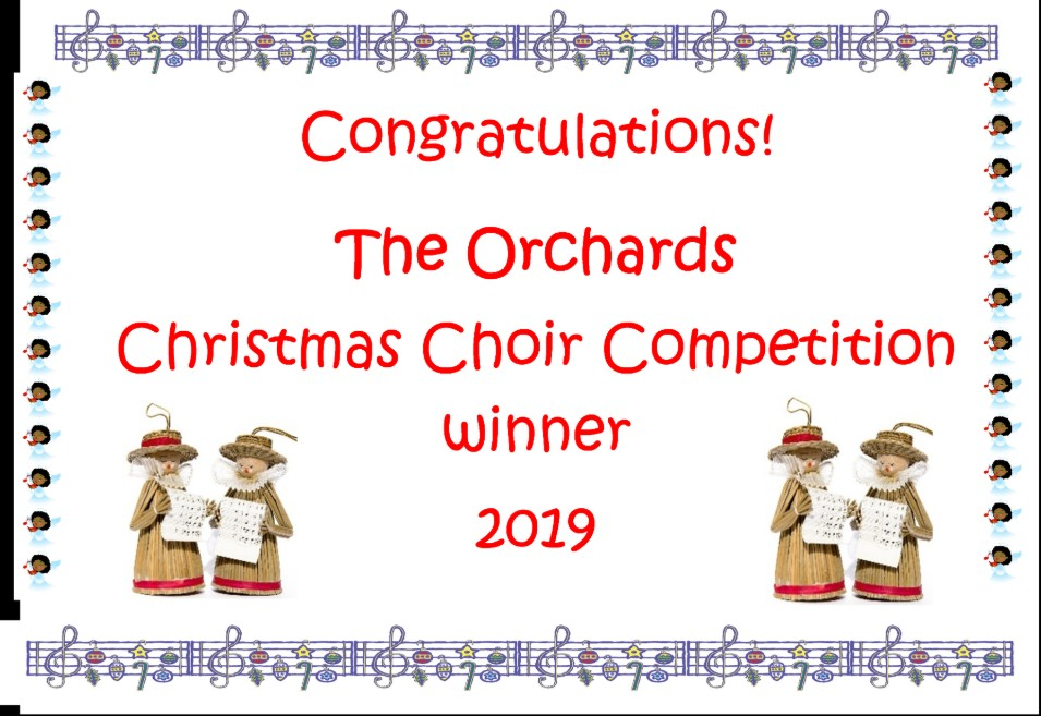 The Orchards - Winners of the Christmas Choir Competition Image