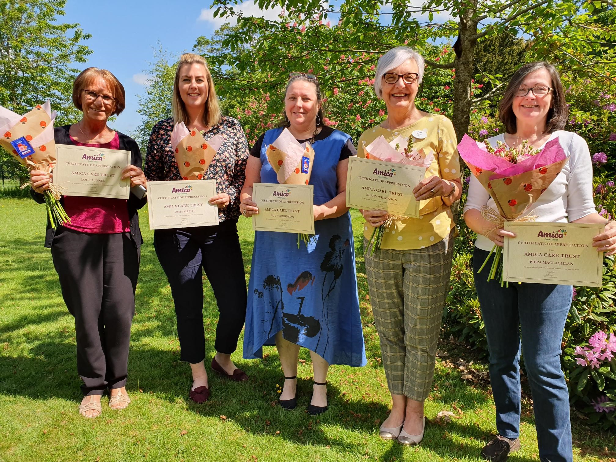 Long Service Awards at Gatchell House Image